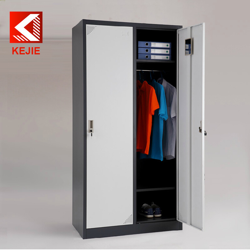 2 door clothing locker cabinet 12 door employee storage for Locker loop dress shirt