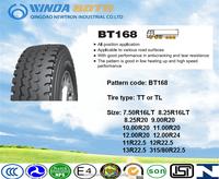 TBR tire truck&bus tyre radial tire BT168 12.00R20