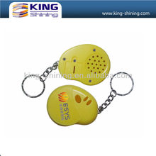 custom mini toy voice keychain recorder for promotional gifts