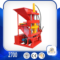 clay brick making machine 2700 clay block making machine manual brick making machine
