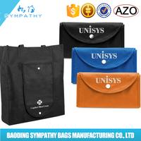 Non Woven Reusable Folding Tote Bag/Non Woven Tote Bag