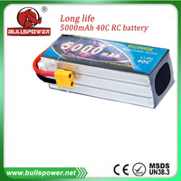 22.2v rc lipo helicopter charge battery 5000mAh pack