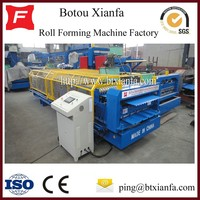 Iron Coil Corrugated And IBR Roof Double Steel Roll Forming Machine