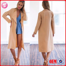 2015 Spring Women Long Coat Model