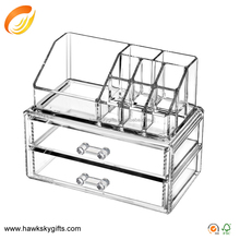 2 Shapes Acrylic Clear Cosmetic Organizer