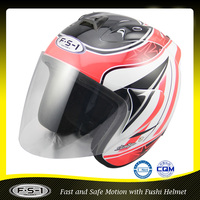 FUSHI wholesale funny motorcycle helmet open face motorcycle helmet 808