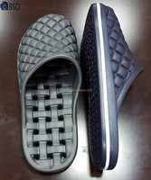 latest design eva once injection flat comfort men outdoor slippers shoes
