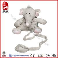 Kid keeper backpack animal baby/kid bag plush elephant safety harness buddy