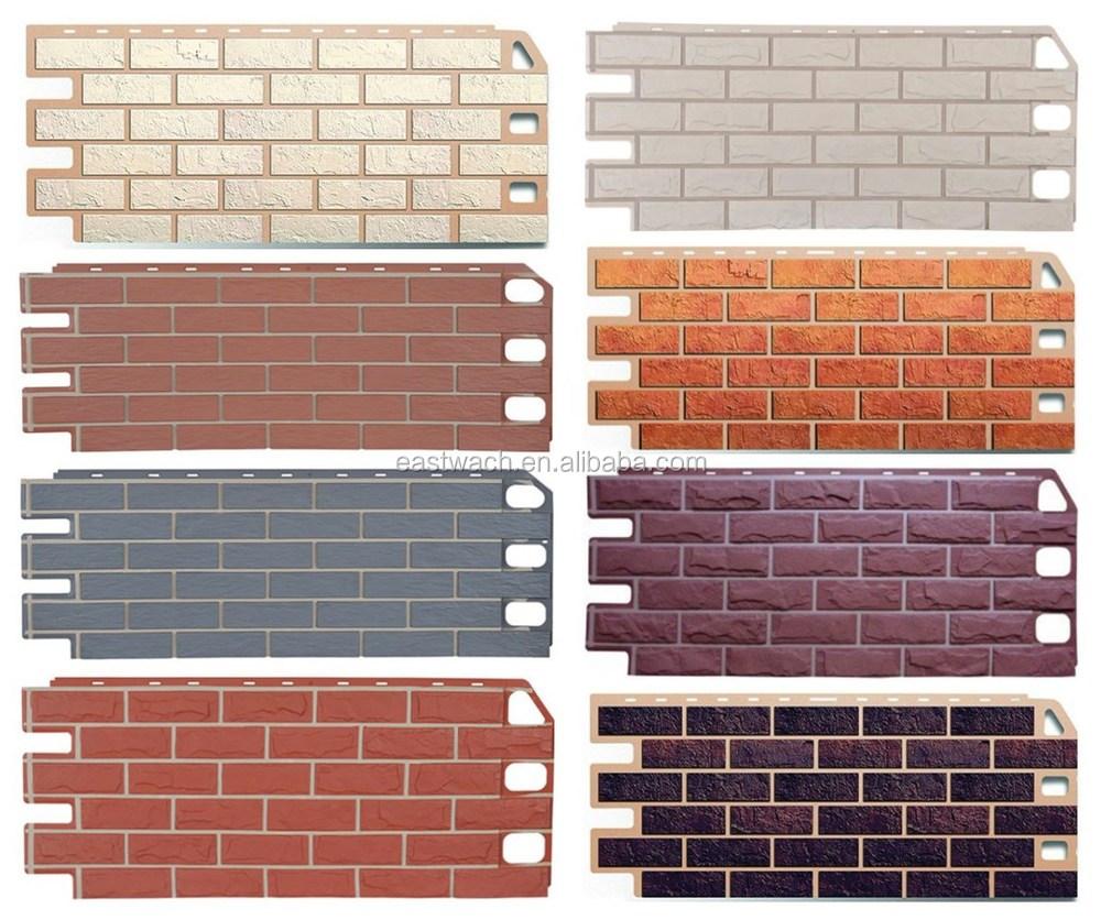 respectueux de l 39 environnement ocre imitation brique. Black Bedroom Furniture Sets. Home Design Ideas