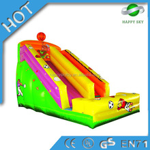 Happy island slide!!!!inflatable slip and water slide,inflatable backyard slides,inflatable kraken slide