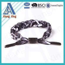 Adjustable personalized custom magnetic fashion round elastic cord for bracelets