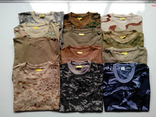 Customized cheap mens military camouflage t shirts