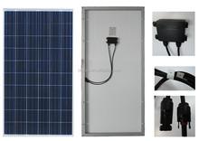Low price per watt good quality/high efficiency poly 250W solar panel High quality 150W poly solar panel price india