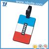 Mini silicone tone on tone luggage tag
