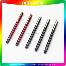 Factory Cheap Price Copper Pen Metal Ball/Roller Pen Gold Trims Black/Red Color Promotional Pen Executive Pen