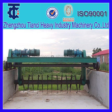 Animal manure/waste recycling Mobile compost turner machine