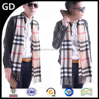 GDMM0188 2015 New arrival men patchwork knit scarf/ Men scarf for dollar store