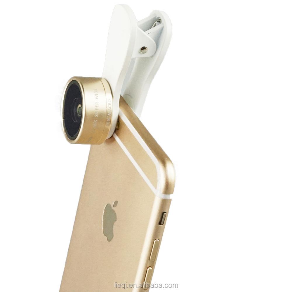 2015 mais quente do telefone móvel lente da câmera com grampo Universal para <span class=keywords><strong>Iphone</strong></span> 6 6 S