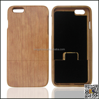 new gift from china supplier, cherry wood craft case for iphone 6 plus
