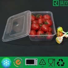 Bio-degradable,disposable Feature plastic food container 1250ml