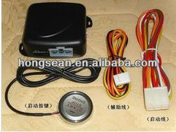 car engine push start button/RFID engine lock ignition starter/keyless go system, push button engine start stop system