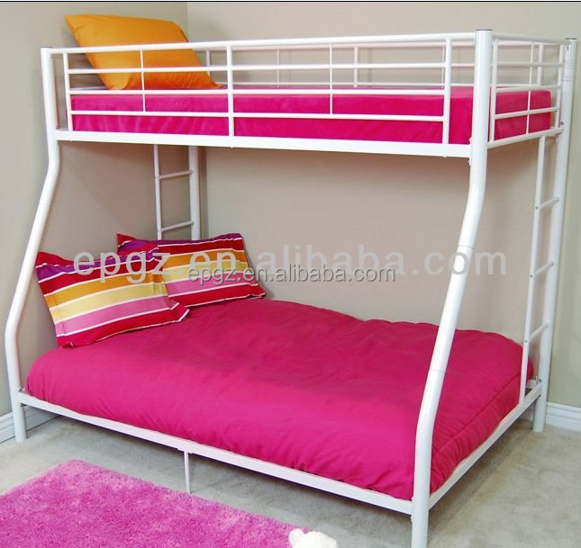 hot sale used cheap dorm bunk bed for sale metal frame
