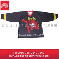 Custom Made Full Dye Sublimation Printing Ice Hockey Jerseys for Team
