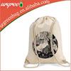 Reusable Cotton Canvas Backpack Bag