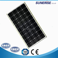 china factory cheap price monocrystalline 18v 100w solar pv panel module