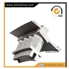 steam turbine blade and gas turbine balde nickel base alloy and super alloy turbine blade