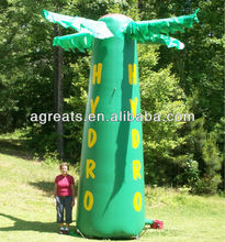 Hot sale inflatable advertising cold air balloon S2042