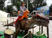 Amusement equipment mechanical dinosaur rides for sale