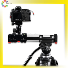 huizhou factory professional 500mm double extend distance portable dslr camera film dolly double sliding camera equipment
