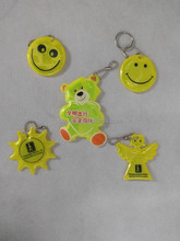 Reflective printing logo keychain for promotion