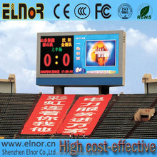 P16 hd full color outdoor led video displays basketball scoreboards