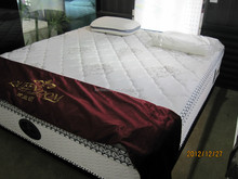 American style euro-top pocket spring mattress