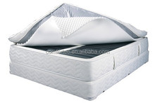 adjustable air mattress with vulcanized rubber cotton air chamber