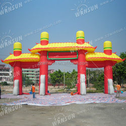 Outdoor event inflatable entrance arch with CE approved