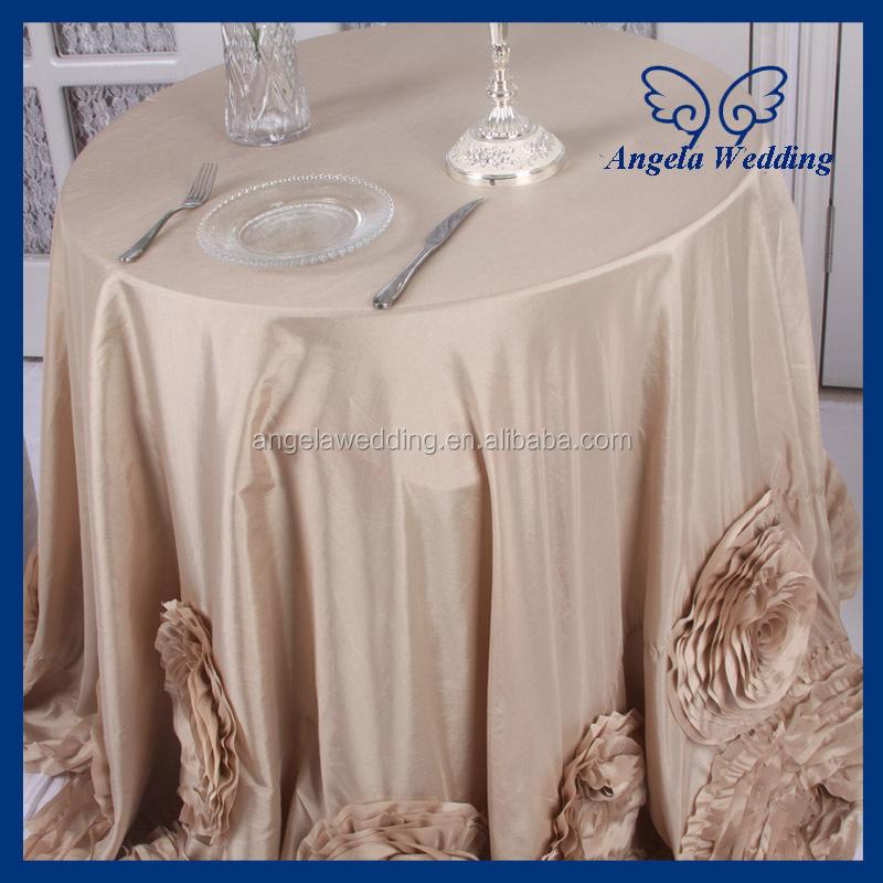 Cl052a Fancy Elegant Round Ruffled Flower Fancy Wedding