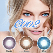 beauty eye giving out fancy visual bright color contact lens eyewear