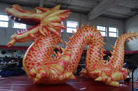 8m(L)*4m(H) Promotional inflatable animal cartoon/model/character/figure/replica/for event advertising/exhibition/dragon W989