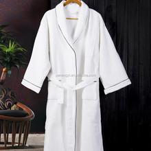 Luxury 100% Cotton Terry/Waffle Cotton Wholesale Cotton Bathrobe