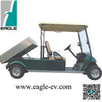 CE approved electric utility vehicle EG2048ZT2,Duming electric golf buggy,two seats utility golf cart