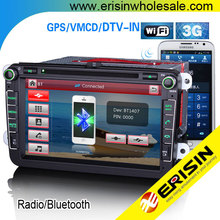 "Erisin ES8015V 8"" Car DVD GPS System Radio Polo V 6R 2009"