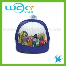 Child kids hats cute china supplier wholesale alibaba carton mesh caps for boys girls