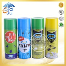 Good quality chemical formula security aerosol insecticide spray
