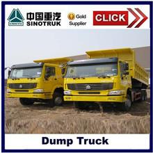 10 wheel sinotruk 336/371hp howo dump truck