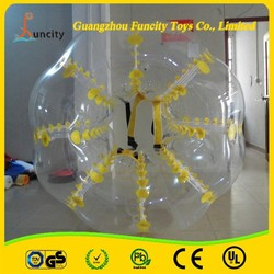 inflatable bumper ball, body bounce grass ball, inflatable loopy ball for choosing