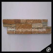 cement back culture slate , natural slate wall cladding