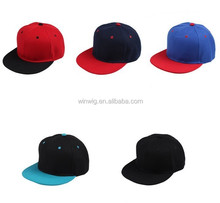 Embroidered Twill Design Logo Cotton Promotional Flat Hats